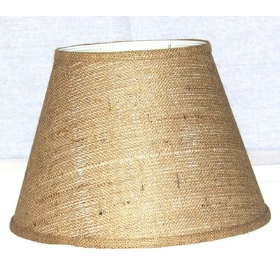 14 Burlap Empire Lamp Shade
