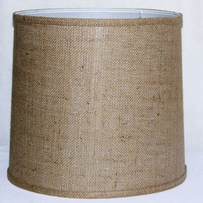 13 Burlap Fabric Drum Lamp Shade