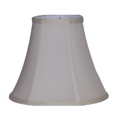 "10"" Silk Bell Lamp Shade W51085-CR"