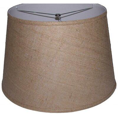 18 Burlap Drum Lamp Shade