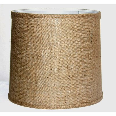 16 Burlap Fabric Drum Lamp Shade