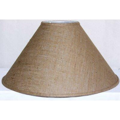 23 Linen Empire Lamp Shade Shade Color: Brown Burlap