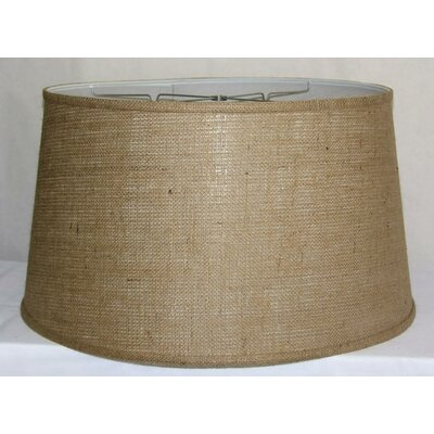 21 Burlap Fabric Drum Lamp Shade