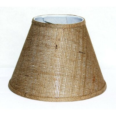12 Burlap Fabric Empire Lamp Shade