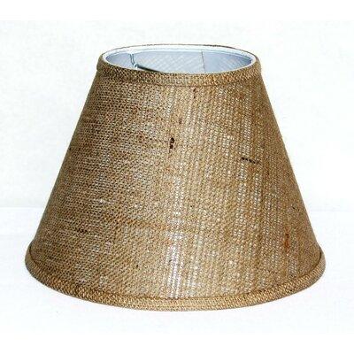 12 Burlap Fabric Empire Lamp Shade