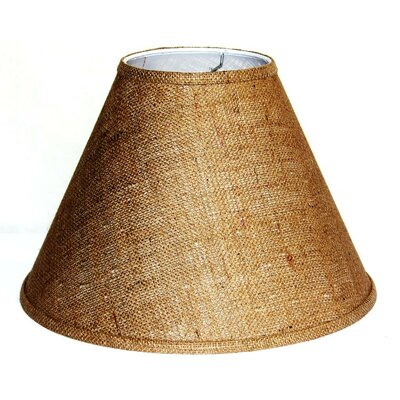 15 Burlap Fabric Empire Lamp Shade