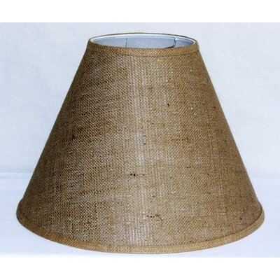 17 Burlap Fabric Empire Lamp Shade