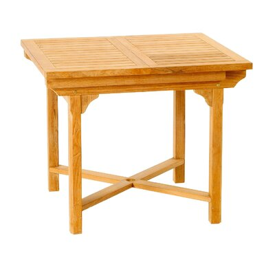 Beautiful Teak Patiotek Balcony Extension Table - Product picture - 6906