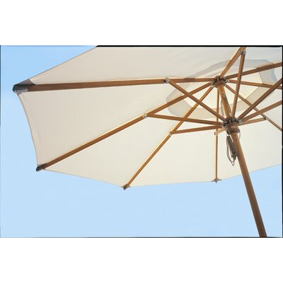 7 Shade Market Umbrella Frame: Brown