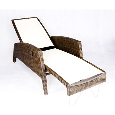 Out of Blue Chaise Lounge Fabric: Off White Sling
