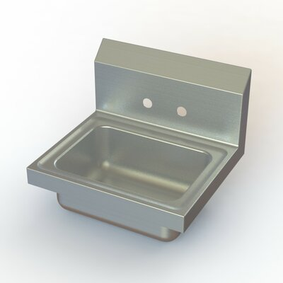 NSF 17 x 15 Single Wall Mount Hand Sink