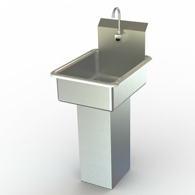 NSF 19 x 25 Single Hand Sink with Faucet
