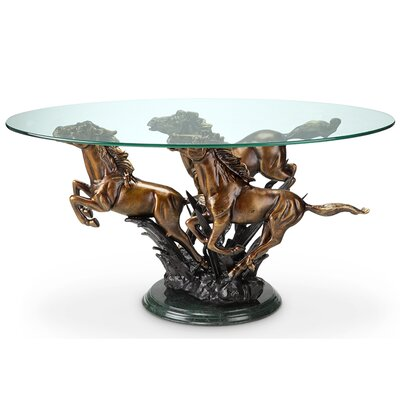 Galloping Horse Trio Coffee Table