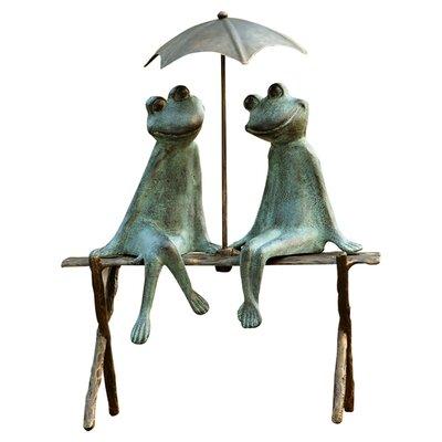 Frog Lovers Garden Statue 33317