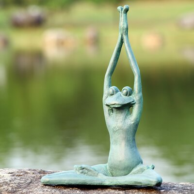 SPI Home Stretching Yoga Frog Garden Statue at Sears.com