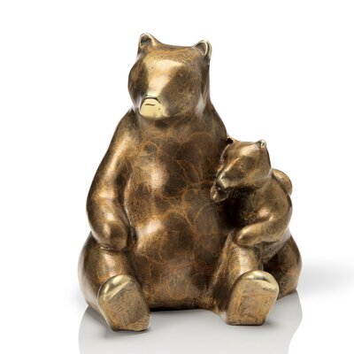 Stylized Bear and Cub Figurine 80212