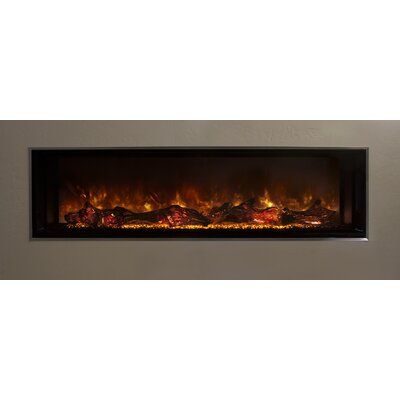 Modern Flames Lfv120 15 Sh Landscape Fullview Series Electric Fireplace Size 22 5 H X 120 W X