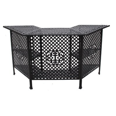 Sasha Home Bar Finish: Black