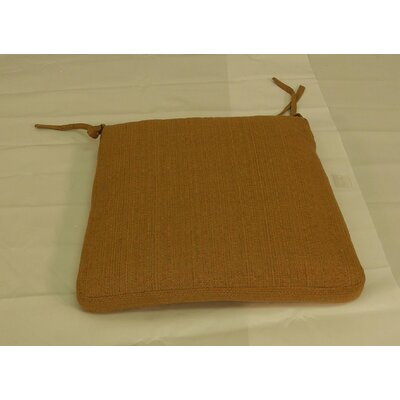Outdoor Dining Chair Cushion Color: Sunbrella Straw Linen
