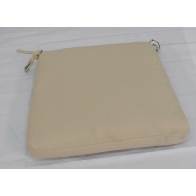 Outdoor Dining Chair Cushion Color: Sunbrella Canvas Beige