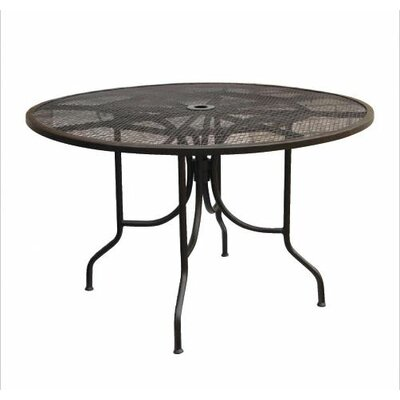 """Paragon Casual Caledonia Round Mesh Table - Size: 48"""""""