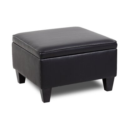 Reception Sectional Ottoman Upholstery: Black