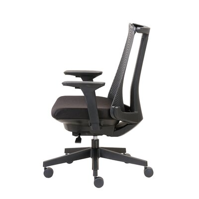 Contemporary Mid-Back Mesh Task Chair with Arms Product Picture 8041