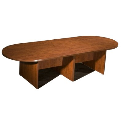 10' Oval Conference Table Finish: Cherry Product Picture 8041