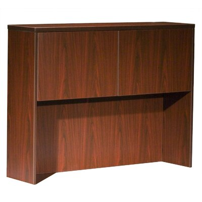 39 H x 48 W Desk Hutch Finish: Mahogany