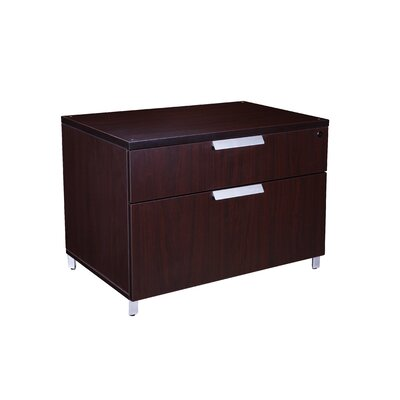 Modular Laminate Series 2-Drawer Lateral File Cabinet Product Picture 8041