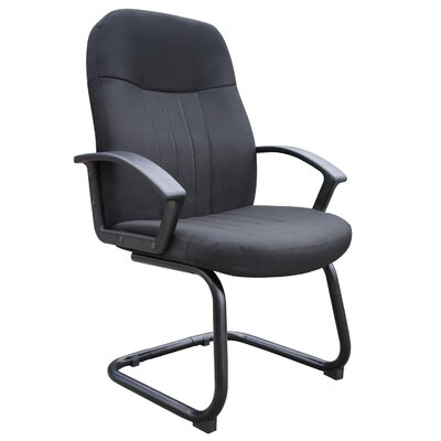 Executive Guest Chair Fabric: Black