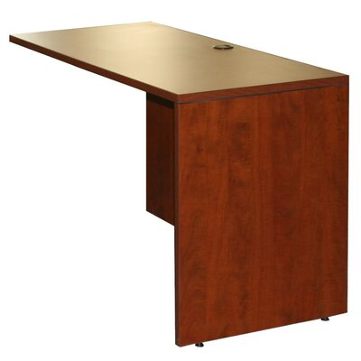 29.5 H x 42 W Right Desk Return Color: Cherry