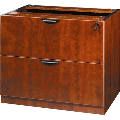 29 H x 31 W Desk File Pedestal Color: Cherry