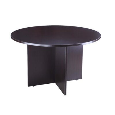 Laminate Series Circular Conference Table Finish: Mocha, Size: 4 L