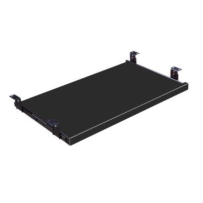 1.25 H x 23.5 W Desk Keyboard Tray Color: Black