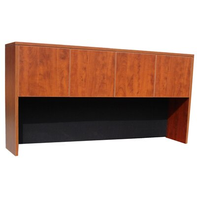 Case Goods 36 H x 71 W Desk Hutch Color: Cherry