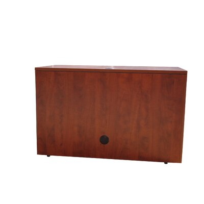 Case Goods 29 H x 48 W Desk Bridge Finish: Cherry