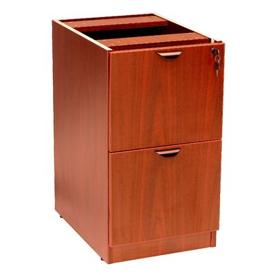 Case Goods 28.5 H x 16 W Desk File Pedestal Color: Cherry