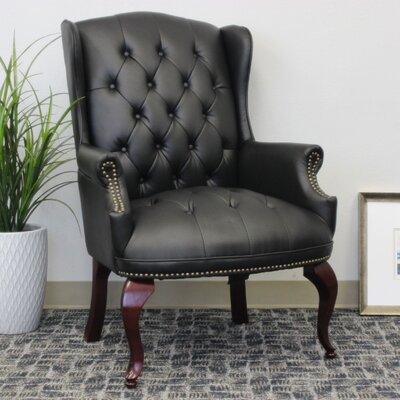 Sedgemoor Traditional Series Lounge Chair Upholstery: Black Coressoft