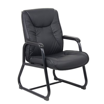 High-Back Leather Guest Chair