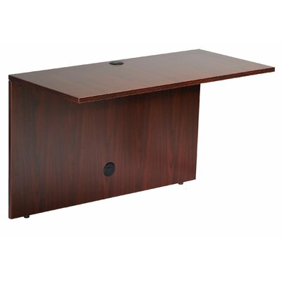 Case Goods 29.5 H x 42 W Desk Bridge Finish: Mahogany