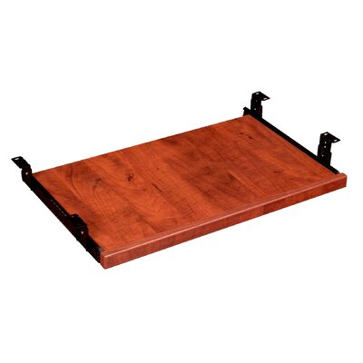 1.25 H x 23.5 W Desk Keyboard Tray Finish: Cherry