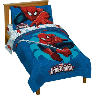 Spiderman Toddler Bedding Set JF28946WFML