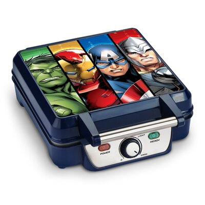Avengers Characters 4-Slice Waffle Maker MVA-281