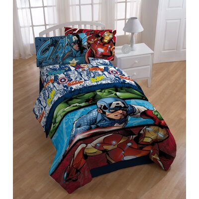 Avengers 2 Publish Twin Sheet Set