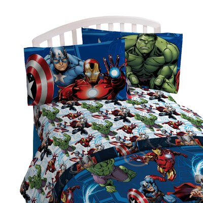 Avengers Heroic Age Twin Sheet Set