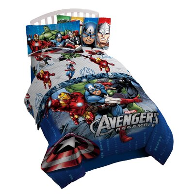 Avengers Classic Halo Twin Sheet Set