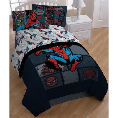Spider-Man 'Jump Kick' Twin Sheet Set JF22941KMCD