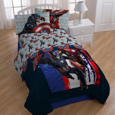 Captain America Civil War Lightning Twin Sheet Set
