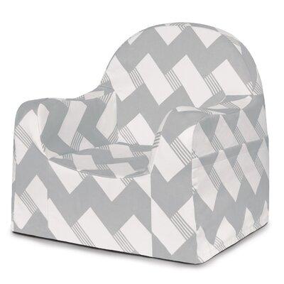 Little Reader Zig Zag Personalized Kids Chair PKFFLR+GZ